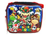 Super Mario 3D Bros Insulated Lunch Box Bag Licenced Nintendo Luigi New Authentic