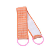 Long Bathing Towel Body Scrubber Shower Exfoliating Cloth for Back, B