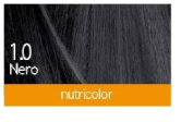 Bios Line – biokap Nutricolor 1.0 NEW Black 2 packs of 140 Ml Covers The White Hair, Feeds and makes the hair Brighter