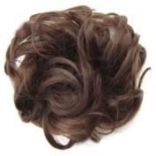 Gemini_mall® Scrunchy Scrunchie Hair Bun Updo Hairpiece Hair Ribbon Ponytail Extensions Hair Extensions Wavy Curly Messy Hair Bun Extensions Donut Hair Chignons Hair Piece Wig