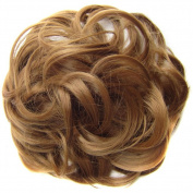 Gemini_mall® Scrunchy Scrunchie Hair Bun Updo Hairpiece Hair Ribbon Ponytail Extensions Hair Extensions Wavy Curly Messy Hair Bun Extensions Donut Hair Chignons Hair Piece Wig