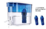 PUR 18 Cup Dispenser w/ 1 Filter + 2 genuine replacement filters