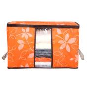 Storage Box Case,Foldable Storage Bag Clothes Blanket Quilt Closet Sweater Organiser Box Pouches