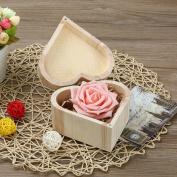 Anshinto Portable Hexagonal Shaped Wooden Storage Box Jewellery Box Wedding Gift Box Case Holder