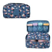 Evtech(tm) Portable Travel Drawer Dividers Closet Organisers Bra Underwear Storage Bag