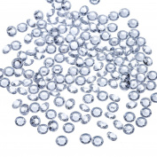 Bememo 10000 Pack Clear Wedding Table Scatter Confetti Crystals Acrylic Diamonds 4.5 mm Rhinestones for Table Centrepiece, Wedding, Bridal Shower, Vase Beads Decorations