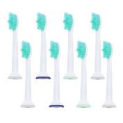 8pcs Toothbrush Heads for Philips Sonicare HX6500 HX6511 HX6530 HX9340 HX6950 HX6710 HX9140