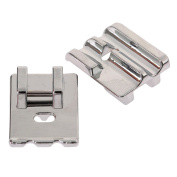 Presser Foot Metal Double Welting Cording Piping Foot/Feet For Domestic Sewing Machine
