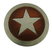 Texas Sheriff Star Belt Buckle Badge Rodeo Western Style Metal Costume Fashion