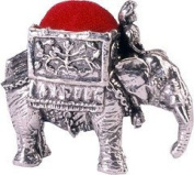 Wentworth Pewter - Elephant Pewter Pincushion - 40mm x 40mm x 25mm
