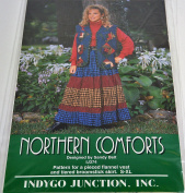 Northern Comforts Vest and Broomstick Skirt Pattern by Indygo Junction