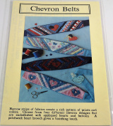 Chevron Belts Pattern by Mary's Patterns One Size fits all