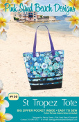 St Tropez Tote Pattern by Pink Sand Beach Designs