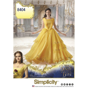 Simplicity 8404 Disney Beauty and the Beast Costume for Misses SIZE 14-22 SEWING PATTERN
