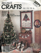 McCall's Crafts Pattern 3279 Heart & Sole Christmas Decor