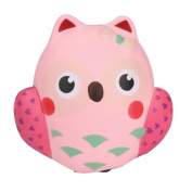 Cute 13cm*12cm*12cm Anglewolf Stress Reliever Owl Buns Cream Scented Super Slow Rising Kids Toy