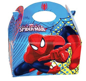 Spiderman – Spiderman Birthday Gift Box for Guests – Pack of 8