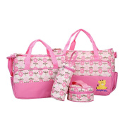 Kangming Multifunction Baby Nappy Nappy Changing Bag Set Hospital Bag Mummy Tote Handbag