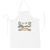 Royal Wedding Elements New Apron g400b