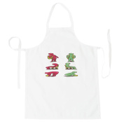Physiotherapy Bad / Right Postures Apron g387b