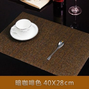 Set of 4 Placemats Food Pad Heat Insulation Pad Disc Pad