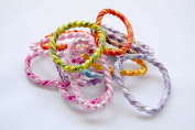 Pack of 10 elastic bands assorted. .