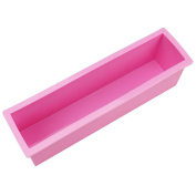 ZWANDP Rectangle Silicone Loaf Toast Bread Candle Making DIY Moulds Cake Soap Mould Crafts Mould