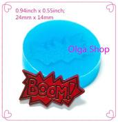 P096 Silicone Fimo Mould Mould Boom