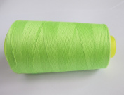 3000 Yards Fluorescent Green Reel 40s 2 402 Tex 27 Tickets Size 120 Spools Polyester PP SP Sewing Thread Hand Machine industrial Embroidery Yarn Quilting Serger Clothes
