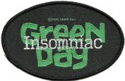 Green Day Insomniac Patch
