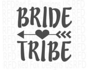 BRIDE TRIBE VINYL HEAT TRANSFER IRON ON