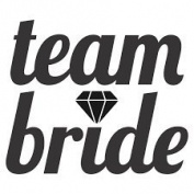 TEAM BRIDE VINYL HEAT TRANSFER IRON ON