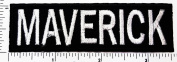 maverick Funny patch Applique for Cloth Sticker Great as happy birthday gift