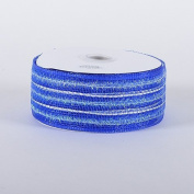 BBCrafts 6.4cm X 25 Yards Laser Metallic Mesh Ribbon for Gift Home Decor Party