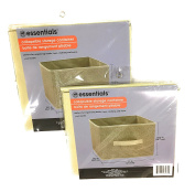 Essential Collapsible Storage Containers ( 28cm x 27cm x 10.13cm ) - Beige
