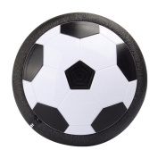 QTMY Air Power Soccer Disc Indoor Outdoor Hover Football Kids Toys