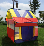 Kids Pop-up Play Tent Children Big Portable Play House Tent, 120cm X 120cm X 130cm