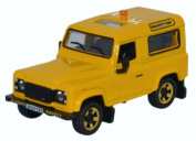 OXFORD DIECAST 76LRDF005 Land Rover Defender 90 RAF Flight Safety