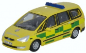 OXFORD DIECAST 76FG002 Ford Galaxy London Ambulance Service