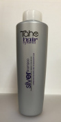 Tahe Hair System Silver Shampoo 1000 ml (33.8oz) Correction for White, Grey or Highlighted hair. by Tahe