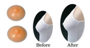Forever Young Realistic Self Adhesive Silicone Nipple Cover in Natural Pale European Skin Tone