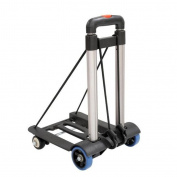 MOXIN Luggage Cart - Aluminium Alloy Light Weight Folding Shopping Cart