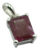 Indian Ruby 925 Sterling Silver classy wholesale Pendant gift UK