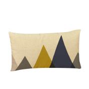 timeracing Cotton Linen Decorative Throw Pillow Case Cushion Cover 30cm x 50cm
