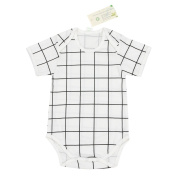 Babiesnature New Chic Bodysuit Baby Boy And Girl Long Sleeve Organic Cotton 6 Months Cheque