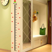 UCTOP STORE 2 Sets Of Children Grows Up Height Measurement Growth Removable Chart Wall Stickers For Baby Kid Room
