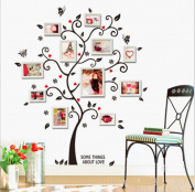 Foreign trade wall stickers fashion home photo wall portfolio wall stickers happy tree