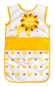 Waterproof Toddler Bib, Feeding Baby Apron, Soft Sleeveless Feeding/Cooking/Baking Bib Yellow #10