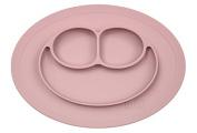 Children's Tableware Set Silicone The Mini Mat Pink Stick