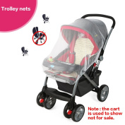 Baby Stroller Mosquito Net Buggy Pram Protector Pushchair - Portable and Durable Baby Insect Netting